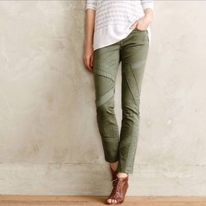 Pilcro army green jeans